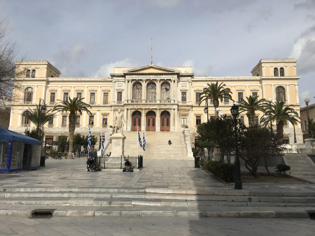 Das imposante Rathaus