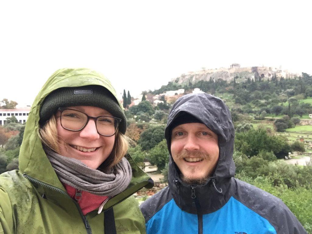 Sightseeing bei Regen