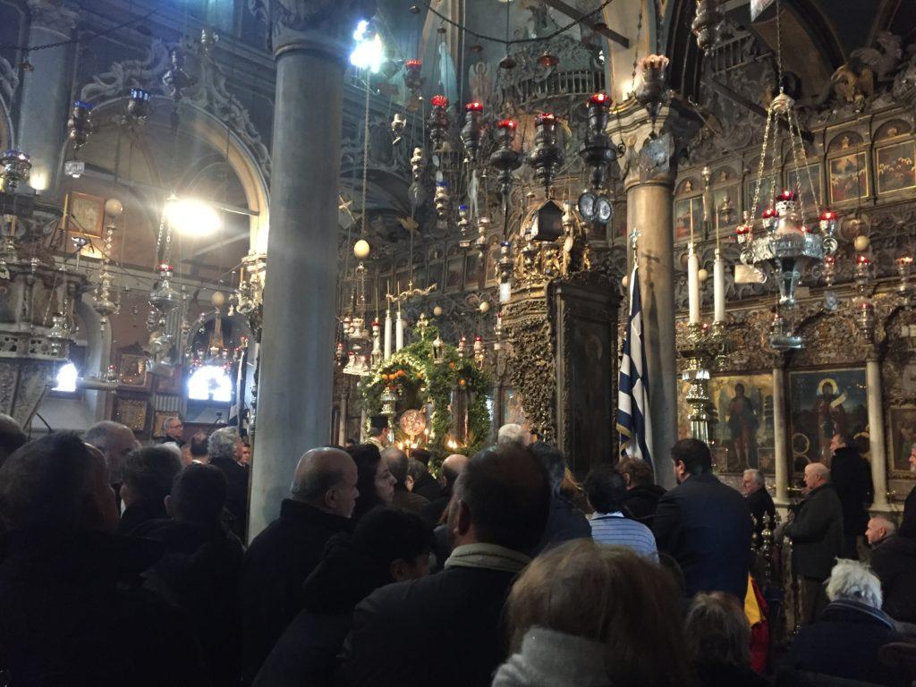 Griechisch-orthodoxe Messe