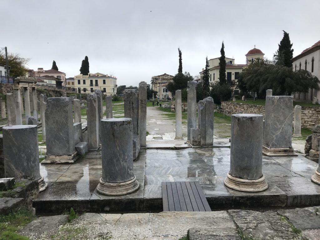 Römische Agora - zentraler Markt und Versammlungsort