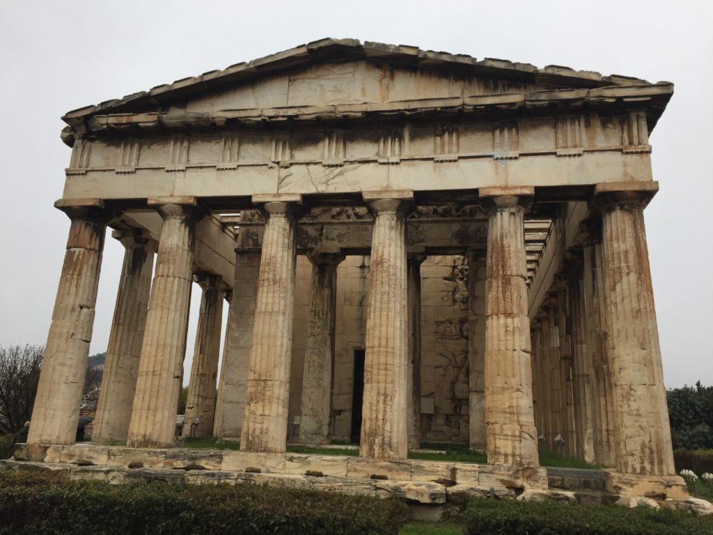 Tempel des Hephaistos - einer der besterhaltenen antiken Tempel