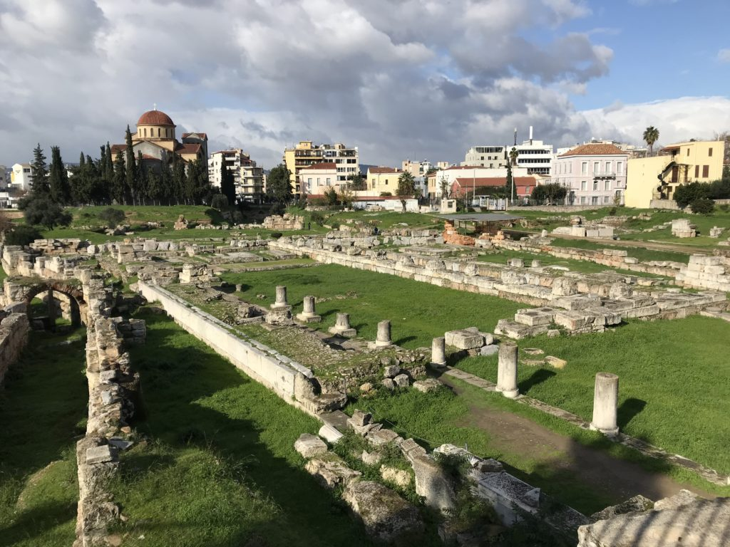 Karameikos - antiker Friedhof und später Keramikzentrum
